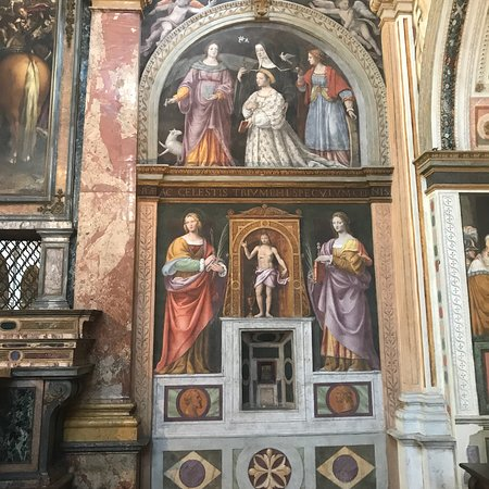 Chiesa di San Maurizio al Monastero Maggiore: Interno affrescato