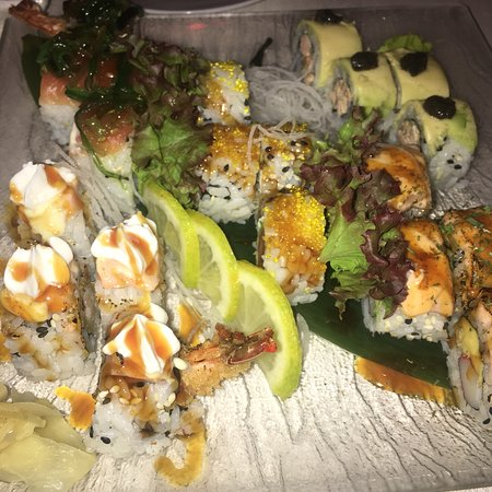 Hoseki: soooo delicious. verry special sushi. this plate was 20euros and so good.
