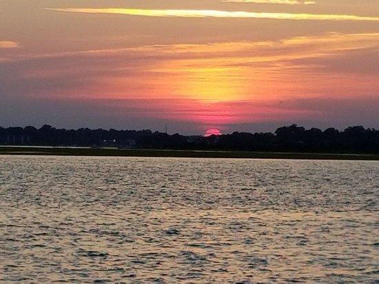 wrightsville beach sunset cruise ライツビル ビーチ wrightsville