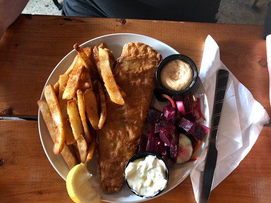 Cowansville, Canadá: Fish and Chips