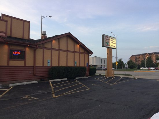 Buffalo Grove, IL: Mi Mexico Sign and side of building