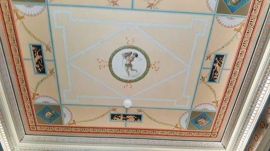 Decke im ehemaligen Badezimmer - Bild von Bundner Kunstmuseum, Chur ...