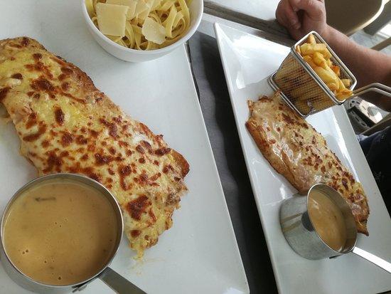 Perwez, Belgique : escalope , parfaites !
