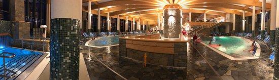 Inside of Chocholowskie Baths