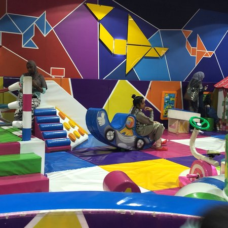 City Stars Mall: my town a play area for kids Price 110 a child it seem they are tricking people by paying 40 for