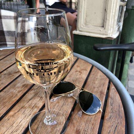 Park Cafe'n: Sommerkveld i vakre Parken i Lillehammer.