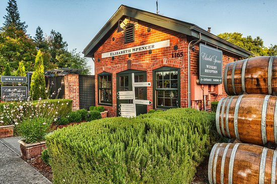 Rutherford, Kalifornien: Historic 1872 Post Office, our Tasting Room