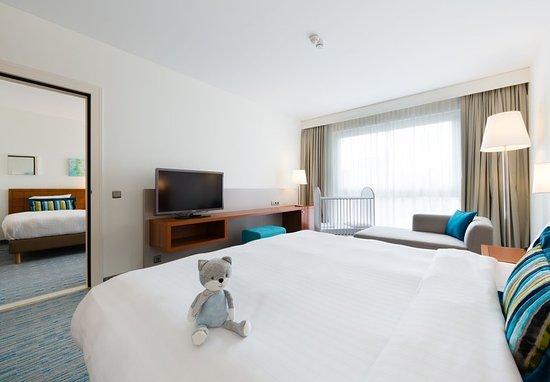 Evere, Belgium: Guest room