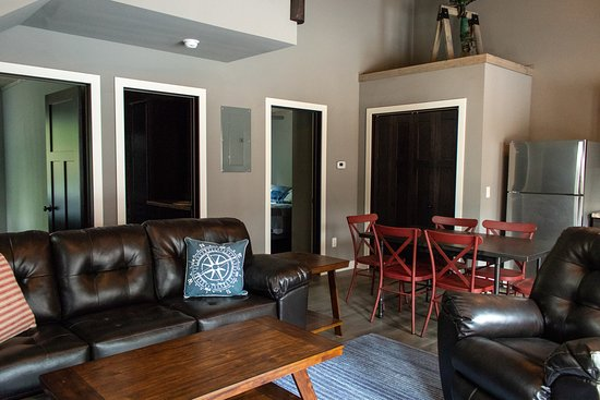 Battle Lake, MN: Living room in the style of Villas 3,4, and 5
