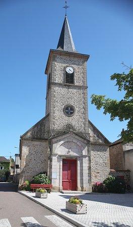 Saint-Berain-sur-Dheune, ฝรั่งเศส: Vue du village de Saint-Bérain-sur-Dheune