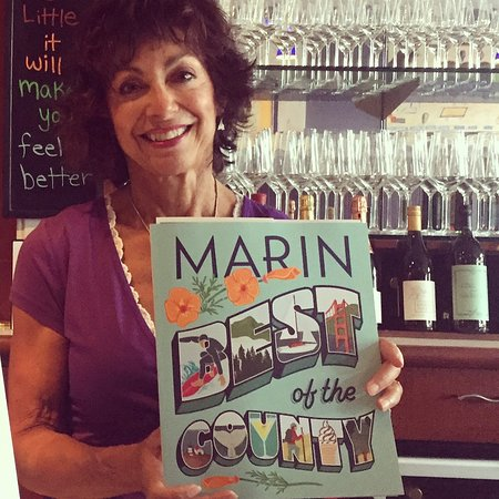 Corte Madera, CA: Best Wine and sip in Marin 2017, according to Marin Magazine and us of course!
