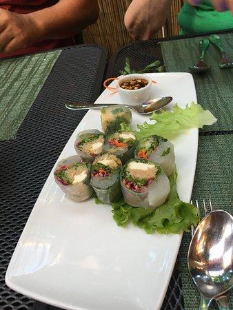 Nicky's Thai Kitchen: Spring Rolls