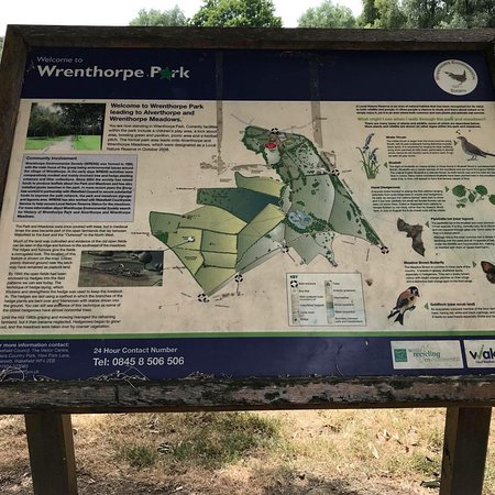 Уэйкфилд, UK: Wrenthorpe Park