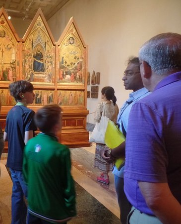 Europe Odyssey Tours: Vatican museum with our guide