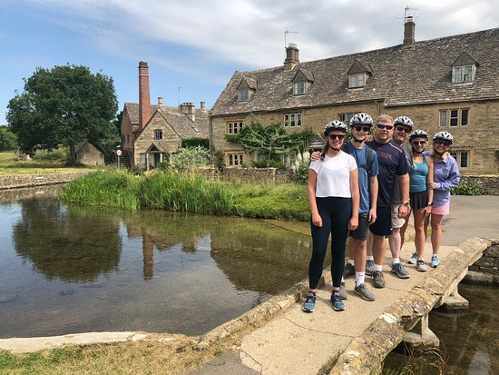 Chipping Campden, UK: A stop along our biking tour