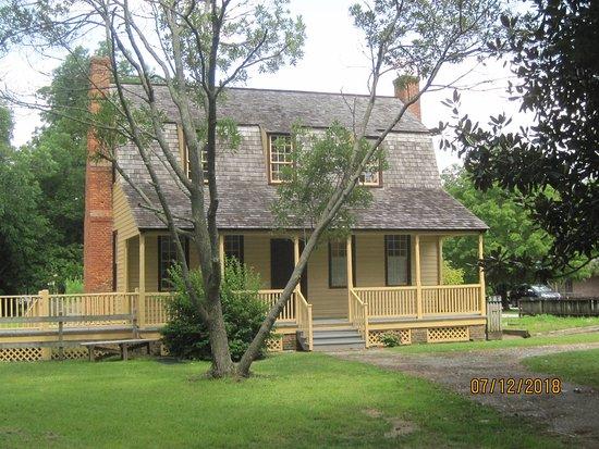 Bath, Carolina do Norte: Van Der Veer House. 1790