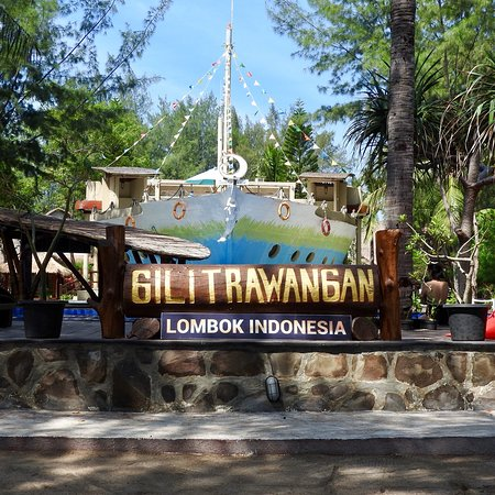 Gili Islands, Indonesia: Zonsondergang