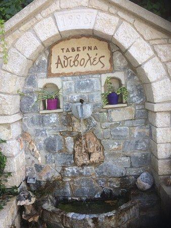 Chromonastiri, Grèce : Name of Taverna