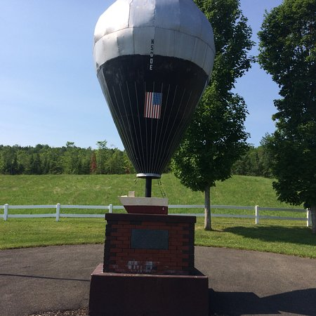 Presque Isle, ME: Double Eagle Balloon Site II