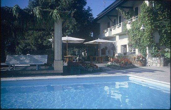 Echenevex, France : Pool