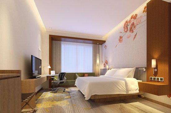 Qidong, China: Guest room