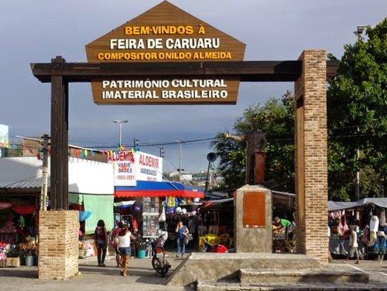 a0694989c Imagem da entrada principal da feira de Caruaru