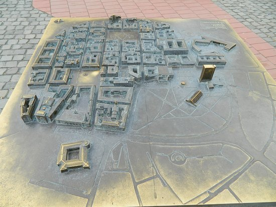 Libertatii Square: Old Town Model