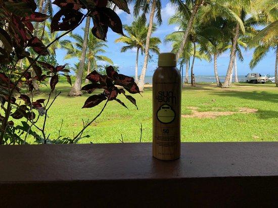 Korovisilou, Fiji: view from bure #7