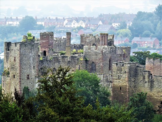 Ludlow Castle: From the other side of the river