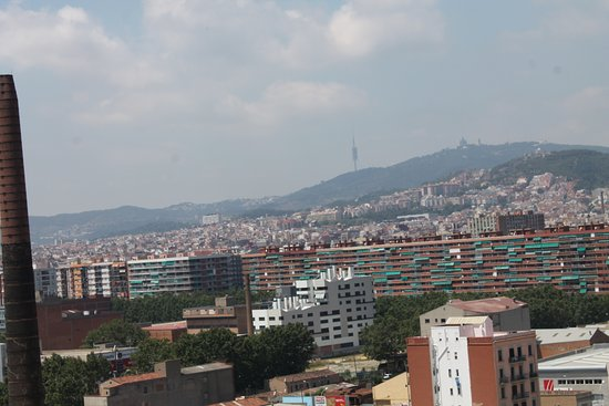 Vistas Desde La Terraza Picture Of Hotel Barcelona Condal
