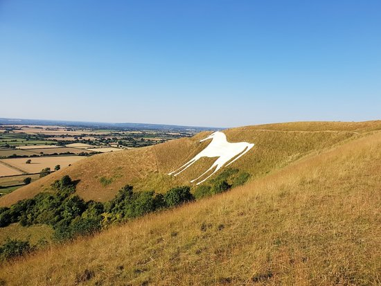 Westbury White Horse is just a few minutes away from the Horse and Groom