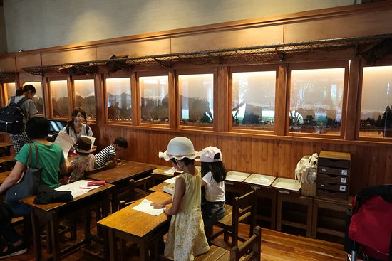 Chihiro Art Museum Azumino: 館内の写真
