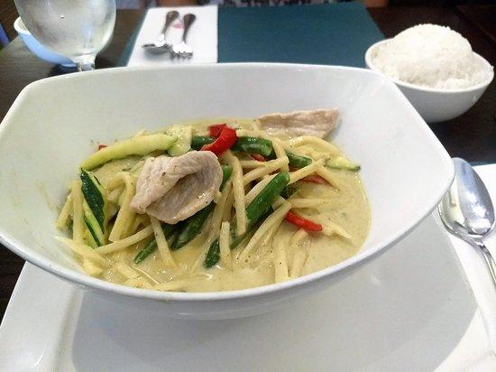 Piscataway, NJ: green curry -great coconut milk taste