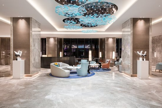 Xianghe County, China: Lobby