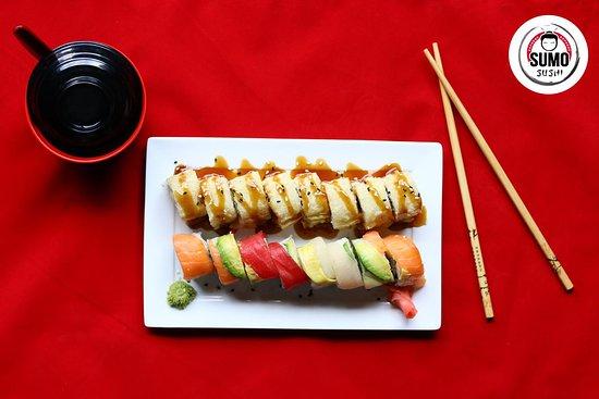 San Rafael, Costa Rica: Sushi en Sumo sushi express