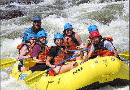 A Wanderlust Adventure: Great rafting trip...thanks Lucas.