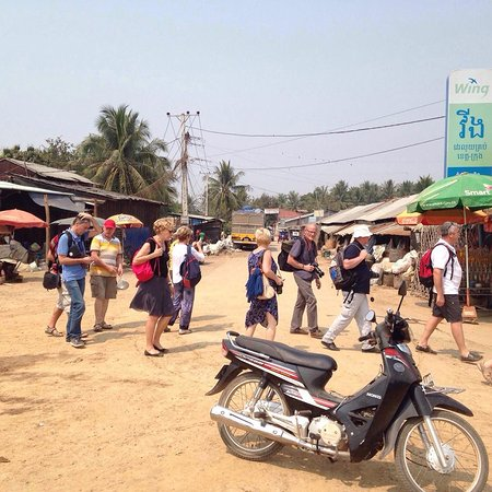 Battambang Province, Cambodia: Fish Paste local market in BTB
