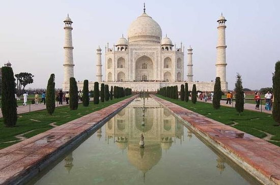 Full-Day Agra Tour with Taj Mahal...