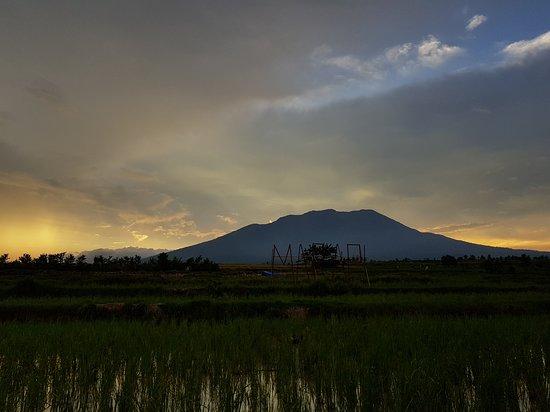 Batusangkar, Indonesien: Sunset at Kadaitoks