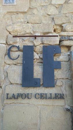 Batea, Espanha: Logo in LaFou Celler