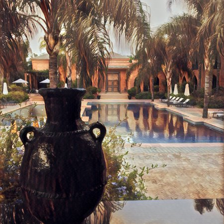 Palais Aziza & Spa: Buildings and grounds