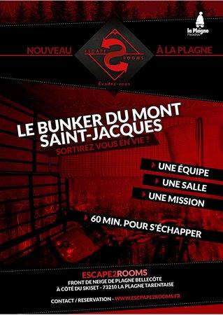 Escape 2 Rooms: Le Bunker du Mont Saint-Jacques