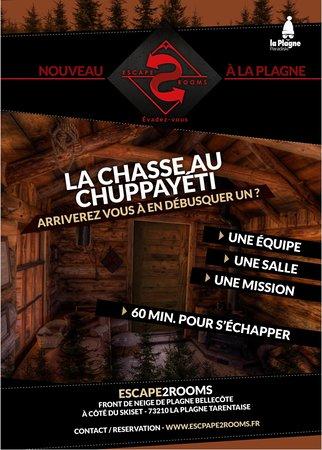 Escape 2 Rooms: La Chasse au Chuppayéti