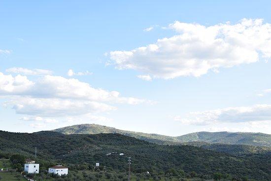 Calera de Leon, Spain: Vistas a la Sierra de Tentudía