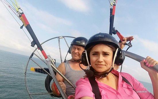 Paragliding in Batumi