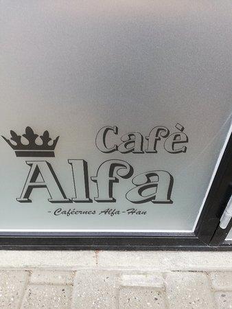Menu Kort Picture Of Cafe Alfa Holstebro Tripadvisor