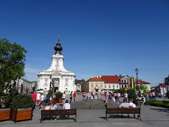 John Paul II Square in Wadowice