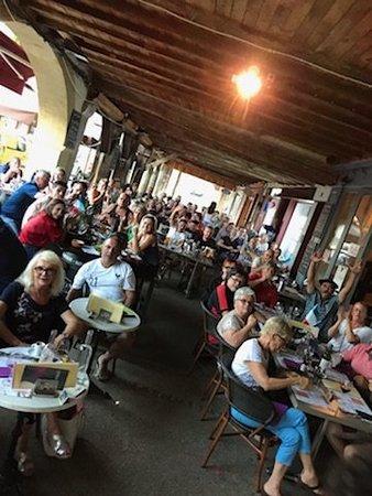 Marciac, Frankreich: Cafe De L'Hotel De Ville