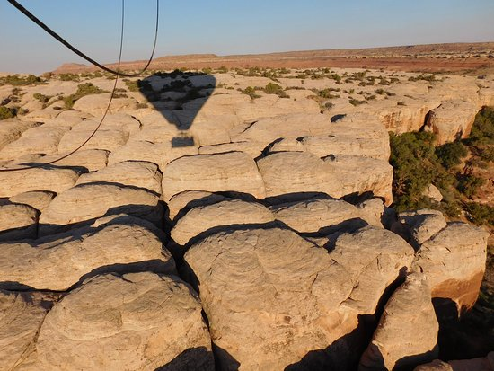 Canyonlands Ballooning: Great view of the rock formations