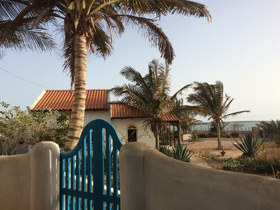 Vila do Maio, Cape Verde: The View from our terrace